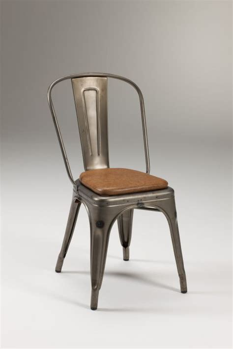 sedie in metallo sedia in metallo zincato fero
