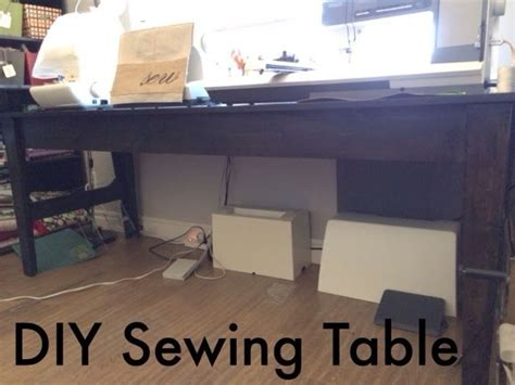 diy sewing room ideas made large sewing table diy sewing room ideas
