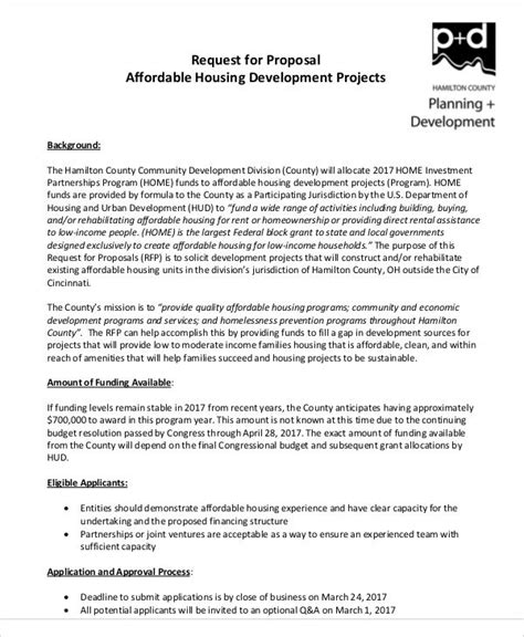 development project proposal templates word