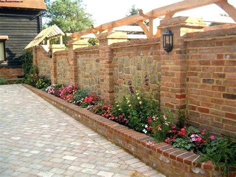 decorative brick walls garden wall decor ideas