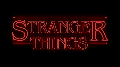 after effects recreating stranger things opening title