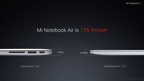 Xiaomi Mi Notebook Air 13 3inc xiaomi mibook air 13 3 quot laptop