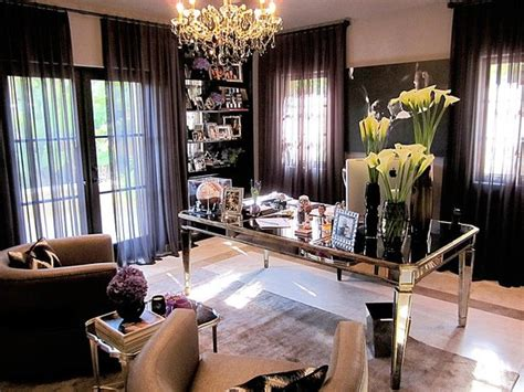 Khloe Kardashian Home Interior | seekingdecor khloe kardashian s home office