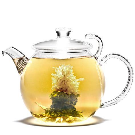 A Pot Of Tea teapot flowering tea rising flower newby teas
