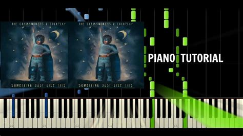 tutorial piano coldplay the chainsmokers coldplay something just like this