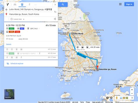 map quest driving directions 10원 tips maps shows driving directions in korea