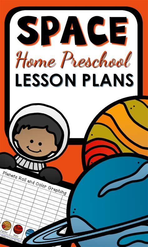 space theme home preschool lesson plan home preschool 101