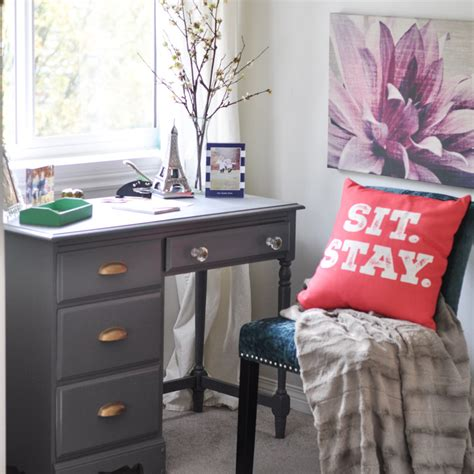 desk in bedroom charming small writing nook with a navy desk in bedroom