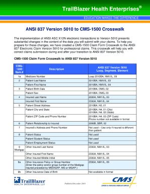 ansi 837 v5010 to cms 1500 crosswalk fill online