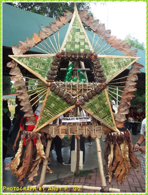 parol filipino recycled photos 1st recycled and indigenous lanterns contest parol 2011 andyfgo
