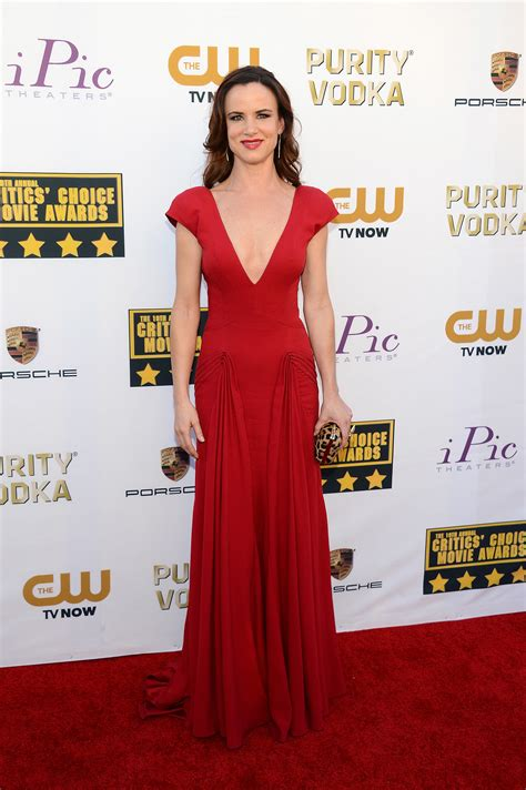 Critics Choice Awards Snow by Juliette Lewis At The Critics Choice Awards 2014