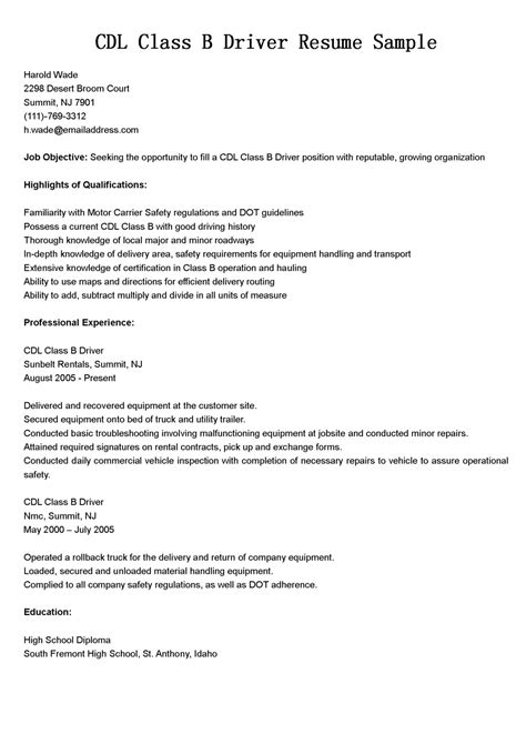 delivery driver resume samples visualcv resume samples database