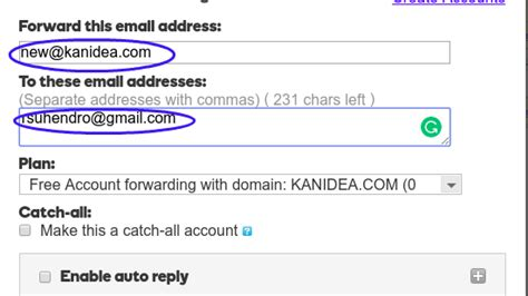 free forwarding email forwarding for creating free email accounts with