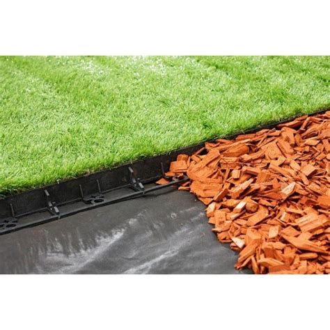 geoborder lawn edging system for perfect lawned edges