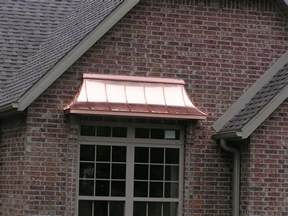 copper window awning awnings waterwayssheetmetal