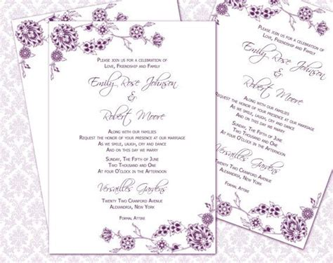 wedding invitation wording 5x7 wedding invitation template
