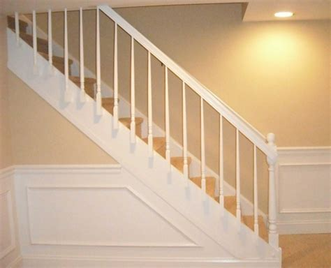 basement railing ideas basement stairs railing stair railing pictures pics 75