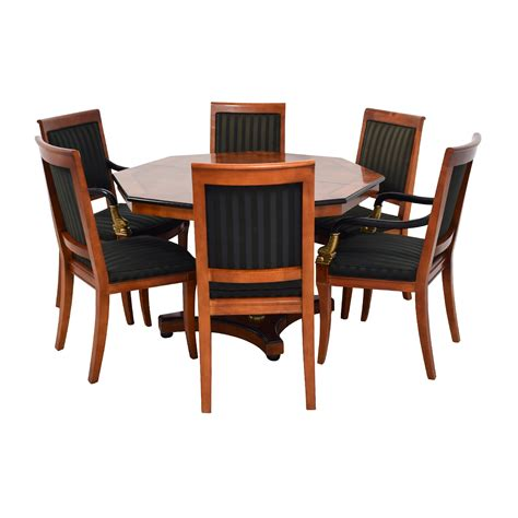 dining table vintage 89 vintage dining table set with gold accent tables