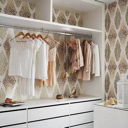 wallpaper closet home dzine home decor 4 easy ways to decorate with wallpaper