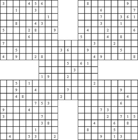 printable sudoku puzzle with answer key 117 best images about sudoku on pinterest fall pictures