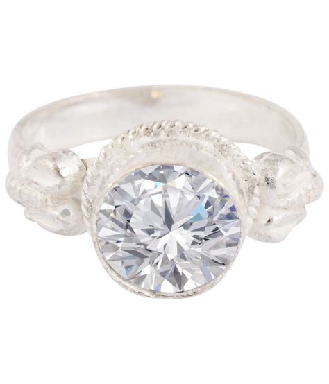jewelry place white zircon ring buy jewelry place white