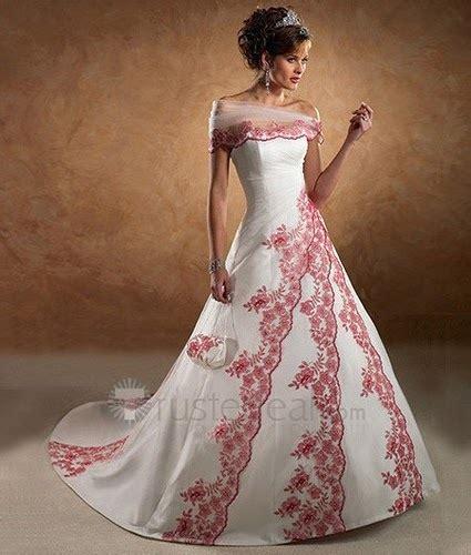 colored wedding gowns wedding fashion different colored wedding gowns