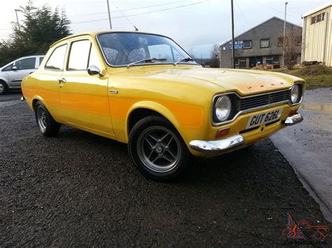 Yellow For Sale Ford Mk1 Rs2000 Replica Yellow Tax Exempt