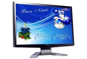 Calendario X Desktop Gratis Auguri Di Natale Cartoline Net