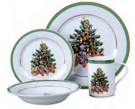 beautiful gibson christmas morning tree gathering 16 piece