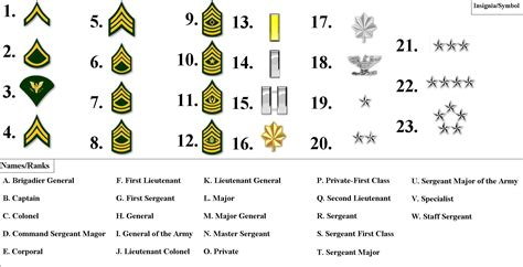 current us army rank structure pin miltary officer rank insignia on pinterest