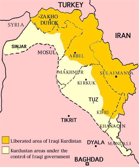 map of iraqi kurdistan maps of kurdistan in weirdness