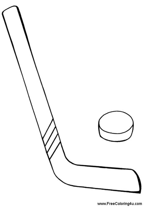 coloring pages of a hockey stick printable hockey stick coloring page murderthestout