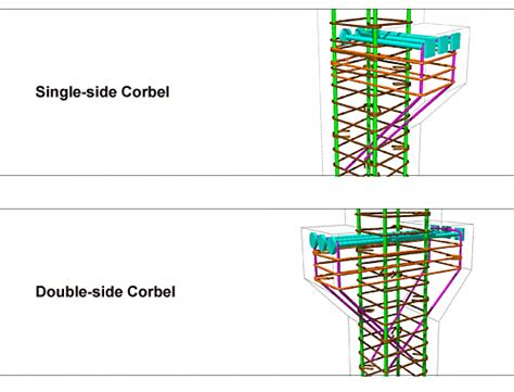 Corbel And Cantilever headed reinforcement corp corbels cantilevers