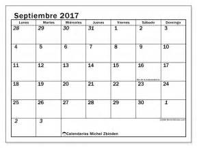 calendario septiembre 2017 para imprimir quot d 237 as feriados