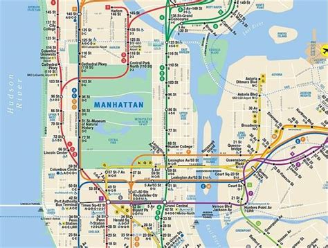 Mat Subway Map by N Y Mta Introduces Interactive Subway Map Rail Metro