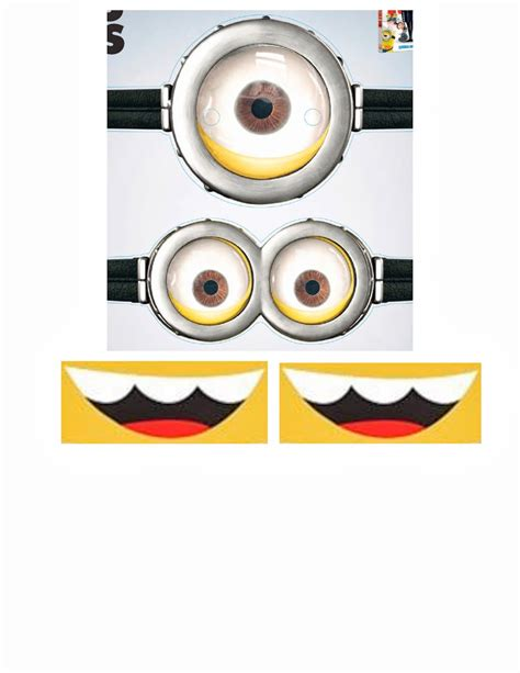 minion eyes template www imgkid com the image kid has it
