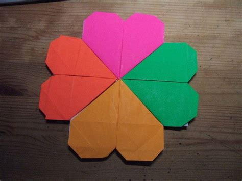 Origami Four Leaf Clover - origami 4 leaf clover 183 how to fold origami 183 origami on