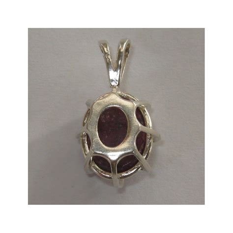 Liontin Ruby Silver 925 liontin sterling silver 925 ruby 18 45 carat