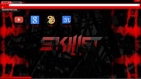 Skillet Logo Chrome Theme   ThemeBeta