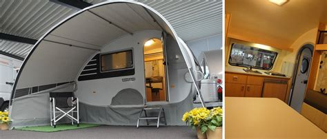 teardrop caravan awning awning t b caravan outdoors idea s future caravan