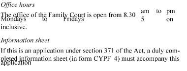 section 10 children act 1989 family courts rules 2002 sr 2002 261 as at 03 august