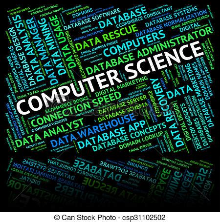 computer science represents words computers and biologist