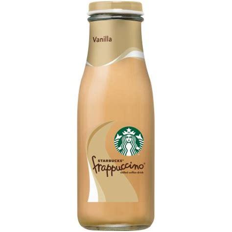 Starbucks Vanilla Frapuccino Coffe starbucks frappuccino vanilla chilled coffee drink 13 7 fl oz glass bottle walmart