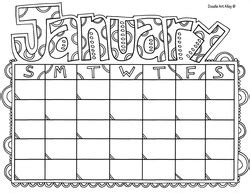doodle and calendar calendar months coloring pages classroom doodles