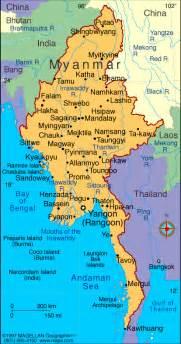 political map of myanmar myanmar map political regional maps of asia regional political city