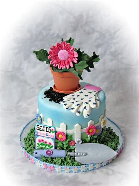 54 Best Images About Cakes Too Neat To Eat Birds Bees Flower Garden Birthday Cake