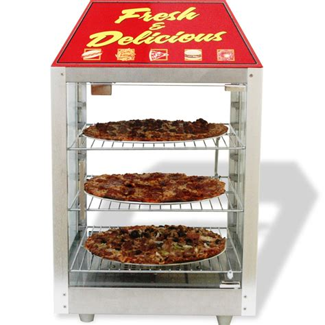 Pizza Warming Cabinet by Heated Pizza Display Cabinet Food Warmer Countertop Glass