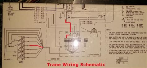 trane xe1000 wiring diagram install wifi honeywell t stat with no c wire on separate