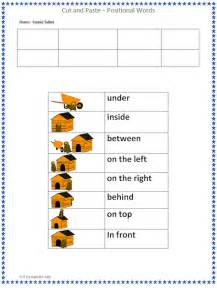 position words worksheet scalien