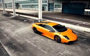 Lamborghini Murcielago Sv Wallpaper Orange Lamborghini Murcielago Sv Wallpapers Orange